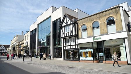 Burglars smashed their way into Fenwicks department store in Colchester during the early hours of th