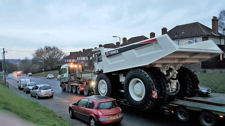 The abnormal load will be transported from Bawdsey to Woodbridge (stock image) Picture: PETER CHAMBE