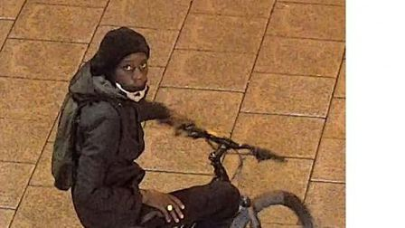 Anyone who recognises this man should contact Bury St Edmunds CID on 101 Picture: SUFFOLK POLICE