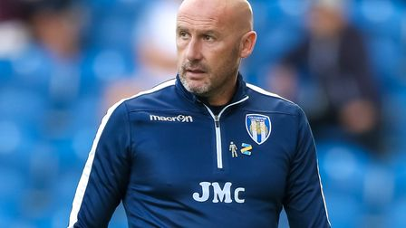 John McGreal, whose U's side have enjoyed the best nine-game start for 17 years. Picture: STEVE WALL