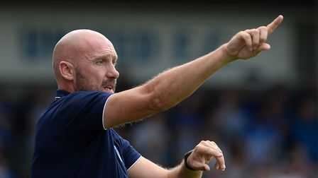 John McGreal, set to name an unchanged side at Boundary Park. Picture: PAGEPIX