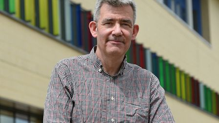 Crawford Jamieson, Ipswich Hospital's medical director Picture: PAGEPIX