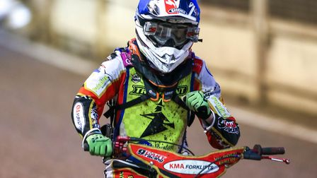 A fist pump for Drew Kemp after his victory in heat two. Picture: Steve Waller www.stephenwall