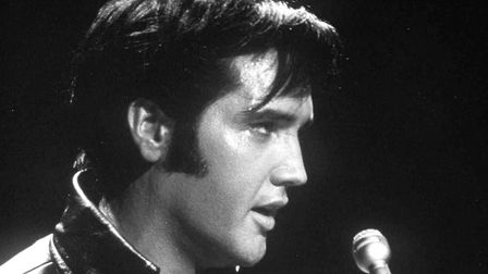 Elvis Presley remains a timeless icon. This image taken from his 1968 TV special. Photo: NBC
