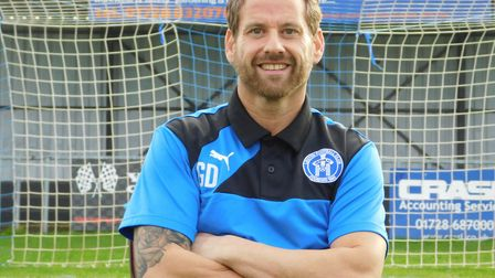 Leiston boss Glen Driver takes his side to Cheshunt in the FA Cup this weekend. Picture: ARCHANT