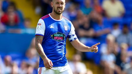 Captain Luke Chambers is one of only three players to have started every league game under new boss