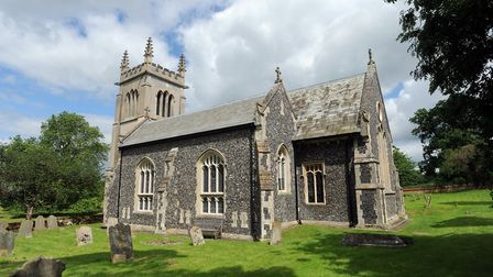Rural churches, like this one in Ickworth, are often targeted by lead thiefs according to Suffolk po
