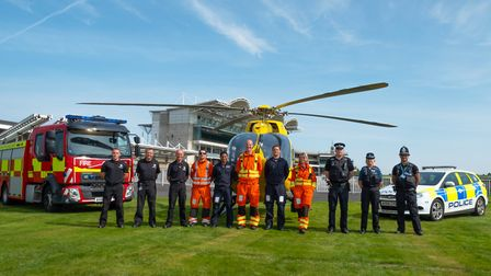 Newmarket Racecourses celebrates and gives thanks to the Emergency Services, NHS and Armed Services