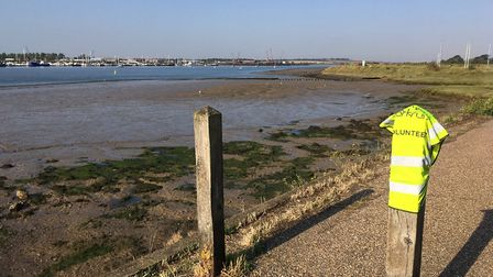 The route of the Burnham-on-Crouch parkrun, beside the River Crouch. Picture: CARL MARSTON