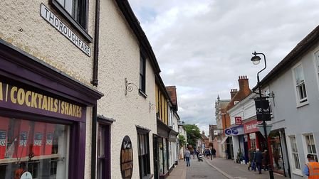 Thoroughfare is up against 25 other high streets for the award Picture: RACHEL EDGE