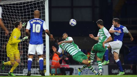 Daryl Murphy was among the scorers as Town beat Yeovil Town 2-1 at Portman Road on this day in 2013