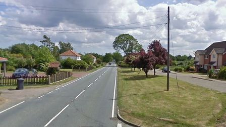 The A144 at Ilketshall St Lawrence Picture: GOOGLE