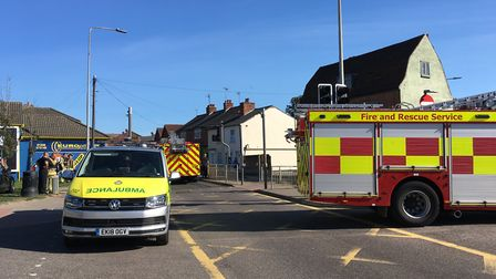 Magdalen Street is shut between the St Botolph's roundabout and .Brook Street The road is closed whi