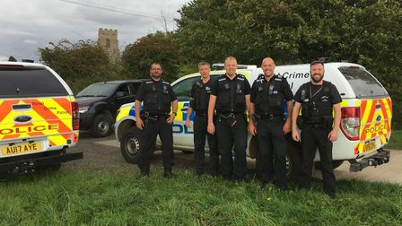 The Rural Policing Team have thwarted the work of hare coursers using ANPR licence plate recognition