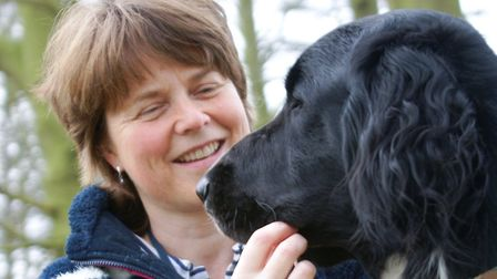 Taking a DNA swab of the dogs is simple and uninvasive. Picture: ANIMAL HEALTH TRUST
