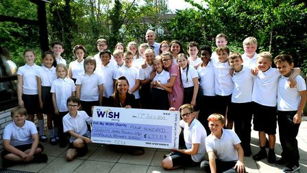 Look out Alan Sugar - the entrepreneurial Year 6 pupils at Hardwick Primary School that took part in