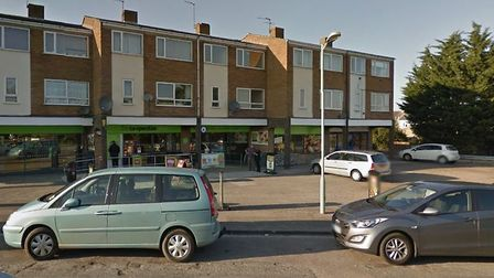The incident happened outside the Co-op on Elizabeth Avenue in Newmarket Picture: GOOGLE MAPS
