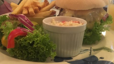 The 'Amos Moses' burger Picture: ARCHANT