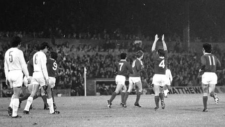 On this day 45 years ago, Town beat Real Madrid 1-0 at Portman Road