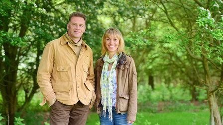 Chris Packham was a regular visitor to Suffolk when BBC's Springwatch was held at RSPB Minsmere Natu
