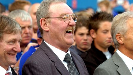 Always with a smile on his face, Kevin Beattie.