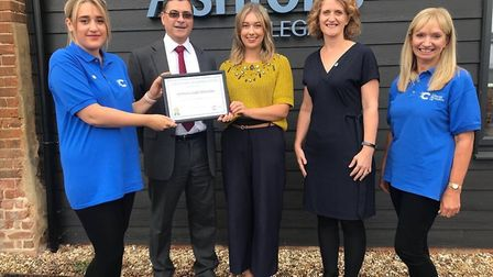 Ashtons Legal in Bury St Edmunds has been recognised for its Free Will Service - which has secured m