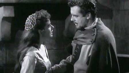 Richard Greene in a scene from The Adventures of Robin Hood. Picture: Forbes Taylor