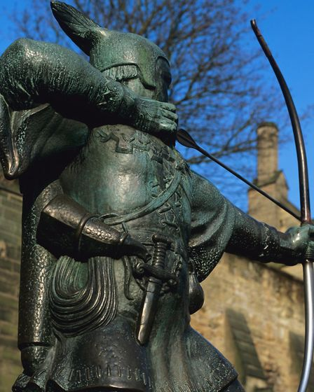 Robin Hood statue in Nottingham. Picture: Getty Images/iStockphoto/Fantail