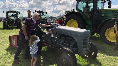 The Suffolk Food Hall Tractor Fair Picture: ANDREA JONES