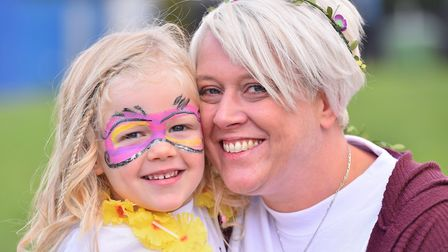 Sian's sister Keely Walker with her daughter Dulcie Picture: NICK BUTCHER