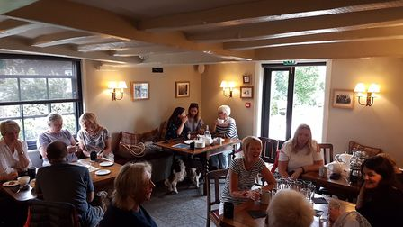 Meet up Mondays at the Turks Head in Hasketon