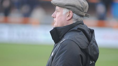 Former Braintree Town boss, Alan Devonshire, who will be back at Cressing Road today with his curren