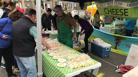 Tthe Food and Drink Festival in Bury St Edmunds. Picture: RUSSELL COOK