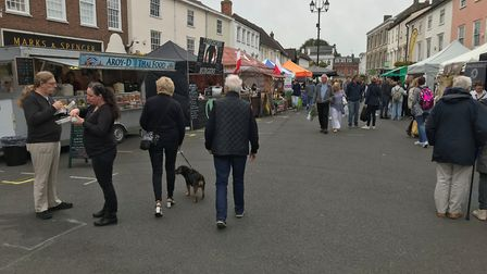 The Food and Drink Festival in Bury St Edmunds. Picture: RUSSELL COOK