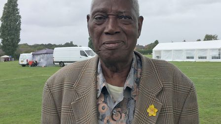 Albert Grant, 84, who came to the UK in 1955 Picture: MARIAM GHAEMI