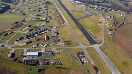 The Bentwaters Park site. Picture: MIKE PAGE