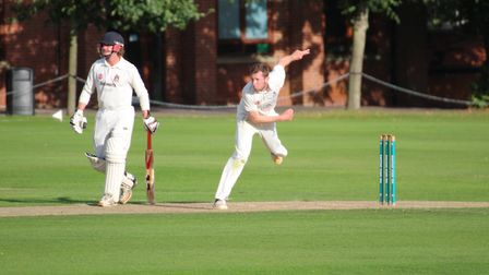 James Poulson, bowling, made a valuable 68 at No. 9 for Sudbury in their defeat at the hands of Swar