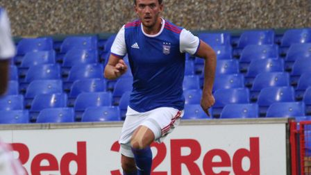 Emyr Huws, who scored for Town at Crewe