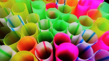 Plastic straws could be outlawed under plans being drawn up by the government Picture: Julie Kemp
