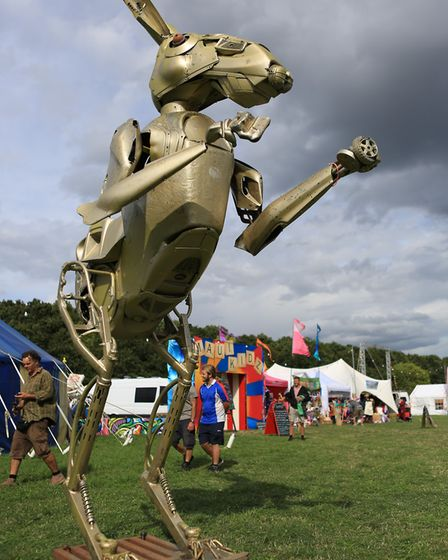 One of the Maui Waui festival sculptures Picture: JERRY TYE