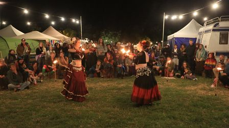 Dancers at the Maui Waui festival World Stage Picture: JERRY TYE