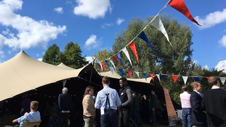 Last year's Big Tent Ideas Fest, organised by Mid-Norfolk MP George Freeman was successful - and has