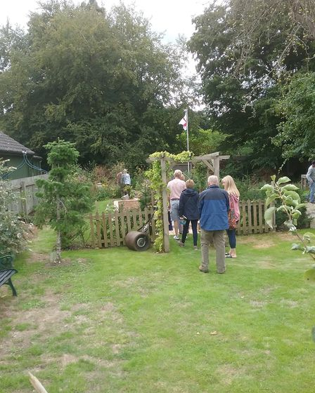 The open gardens weekend at Walsham le Willows. Picture: JOHN STEBBING