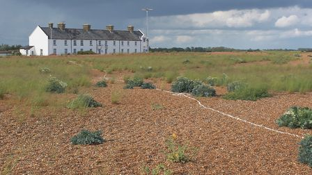 Shingle Street, steeped in history and mystery. Picture: Peter Bash