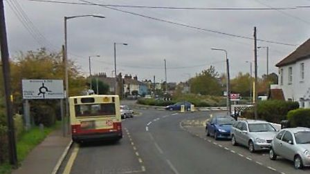 The incident happened in Braintree Road, Witham Picture: GOOGLE
