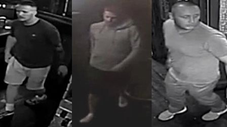 CCTV appeal folloiwng Ipswich assault Picture: SUFFOLK CONSTABULARY
