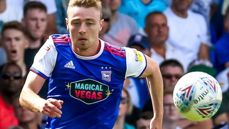 Freddie Sears has not played for Ipswich Town since the game at Sheffield Wednesday. Picture: Ste