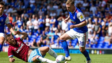Paul Hurst says Freddie Sears still has a role to play. Picture: Steve Waller www.stephenwalle