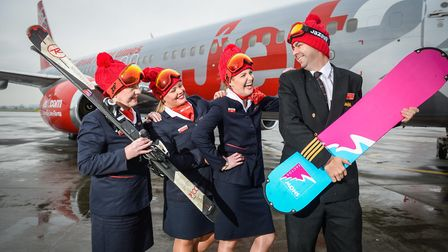 Jet2.com is celebrating the start of its biggest ever ski season which will see the launch of a numb