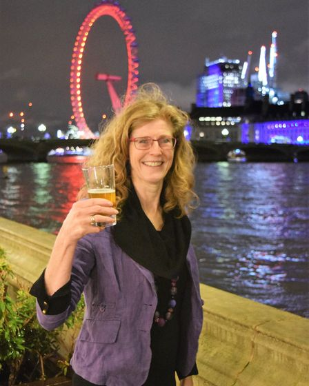 Frances Bean is a serious real ale enthusiast from Suffolk Picture: RED FLAME COMMS